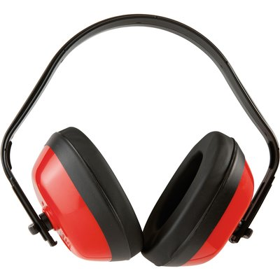 Casque anti-bruit - Rouge - Réduction sonore 27 dB