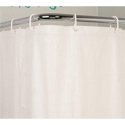 Rideau vinyle blanc - Sealskin sans anneaux - 180 x 200