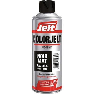 Peinture synthétique en aérosol - Noir - Mat - Jelt