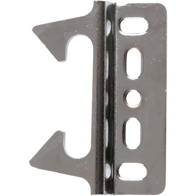 Gâche contre coudée - Pour serrure de portillon GA592 - Noir
