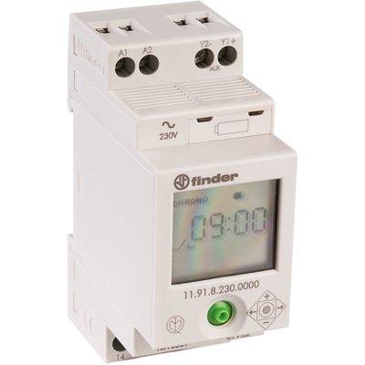 Relais crépusculaire avec interrupteur horaire incorporé - Série 11.91 - Fi