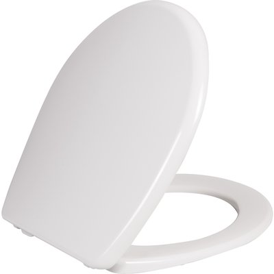 Abattant WC Blanc double - Beaulieu - Siamp