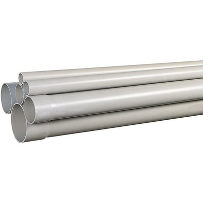 Tube pvc évacuation - 40 mm - 4 m