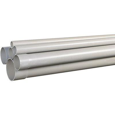 Tube PVC - Pour évacuation des eaux usées - Longueur 4 m