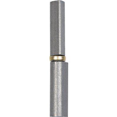 Paumelle à souder inox - 80 mm - Ø 10 mm - Soudaroc - Clemenson