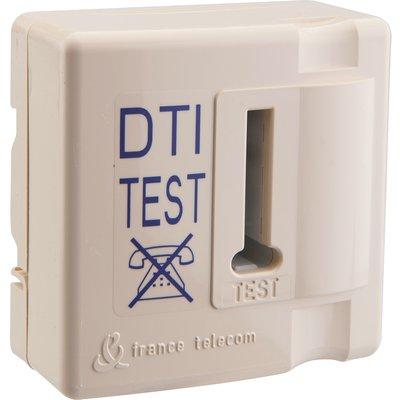 Prise DTI format conjoncteur - Pour coffret de communication