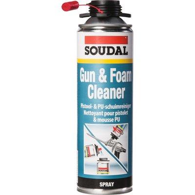 Nettoyant mousse pour pistolet - 500 ml - Gun & Foam Cleaner - Soudal