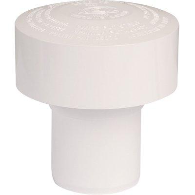 Clapet équilibreur de pression PVC blanc - Ø 50 mm - Durgo