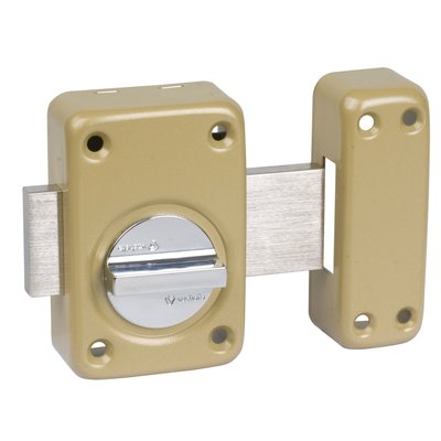Verrou à bouton V136 système V5 - Verni bronze