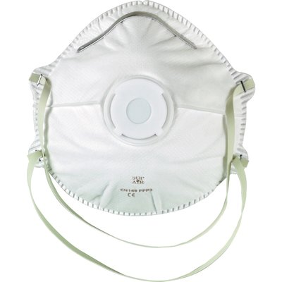 Masque coque avec valve FFP2 - Vendu par 10 - MP Hygiene