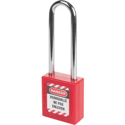 Cadenas de consignation rouge varié - 76 mm - Thirard