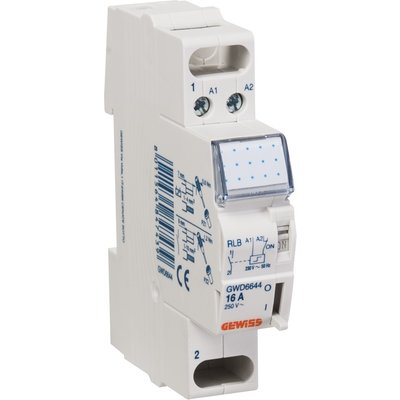 Télérupteur - 1 module - Tension 230 V - Intensité 16 A