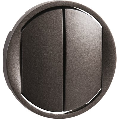 Enjoliveur d'interrupteur va-et-vient Soft 10AX Céliane - Double