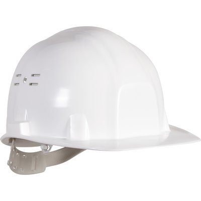 Casque de chantier blanc - Earline