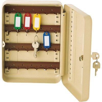 Coffret à clé à crochet fixe Beige 24 clés - Decayeux