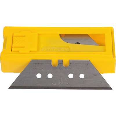 Lame de couteau réversible 1992 - Grand trapèze - Étui plastique 10 pièces