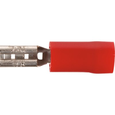 Fiche plate pour câblage - Femelle