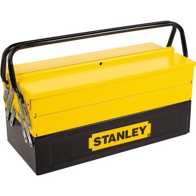 Boîte à outils accordéon - 5 compartiments - Stanley