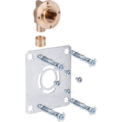 "Sortie de cloison simple à sertir - PER Ø 12 mm - F 1/2"" - Robifix - Watts"
