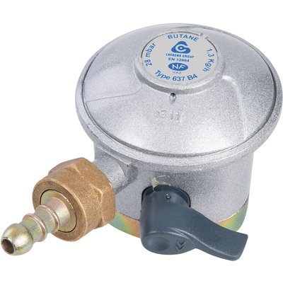 Détendeur gaz butane à sécurité - Pour bouteille Le Cube