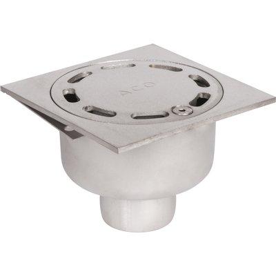 Siphon inox collectivité - 100 x 100 mm - ACO