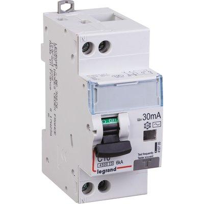 Disjoncteur différentiel DX³ 4500 - 6 kA - Courbe C - Protection des départ