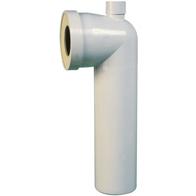 Pipe WC longue à prise d'air - Diamètre 100 mm