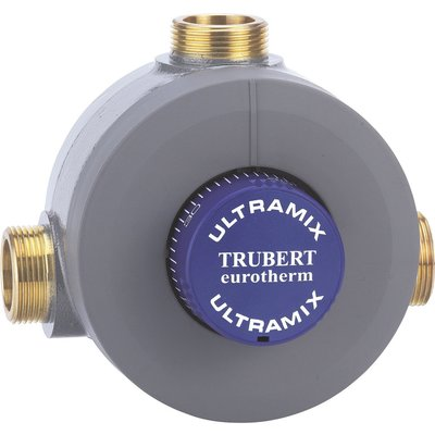 Mitigeur thermostatique collectif trubert eurotherm, 56 à 400 l/min - Blanc