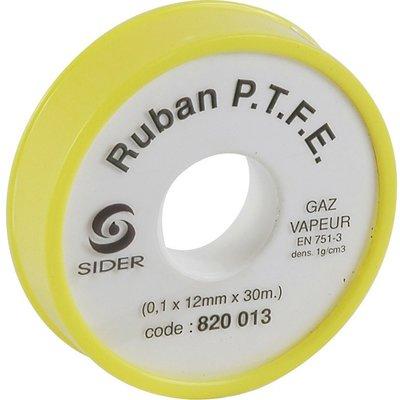 Ruban téflon PTFE - Spécial gaz naturel