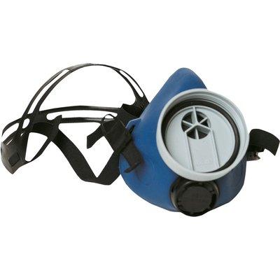 Demi-masque respiratoire nu - Filtre avec soupape d'expiration - Caoutchouc