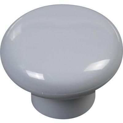Bouton nylon - Cadap - Blanc