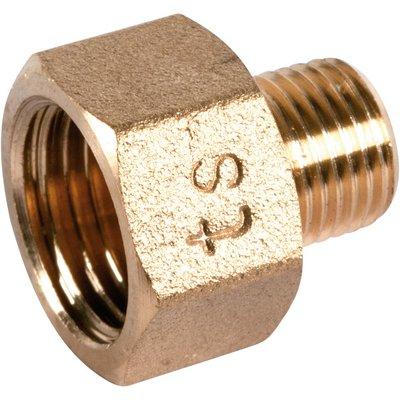 "Raccord laiton hexagonal réduit à visser - M 1"" - F 1""1/2 - 246G"