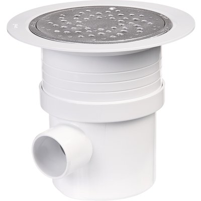 Siphon de sol spécial sol plastique - Ø 50 - 63 mm - Sitaral - Nicoll