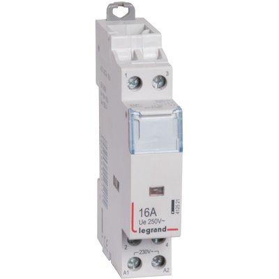 Contacteur de puissance bipolaire - Contact O + F - 1 module - Legrand