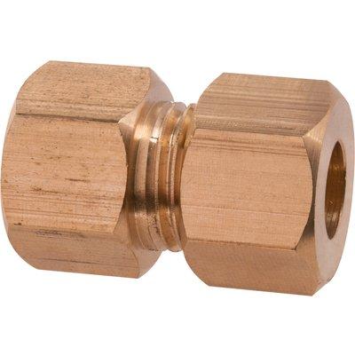 Raccord bicône laiton réduit - Ø 16 mm - Ø 14 mm