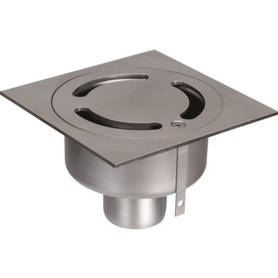 Siphon inox collectivité - 150 x 150 mm - ACO