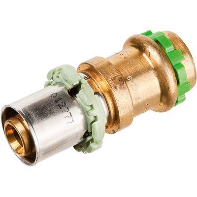 Adaptateur multicouche / cuivre droit Réduit à sertir - Femelle - Ø 20 - 18