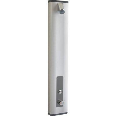Panneau de douche thermostatique avec robinet temporisé