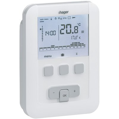 Thermostat d'ambiance digital programmable EK520
