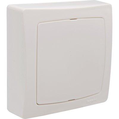 Boîte blanche carrée complète - Saillie - Legrand