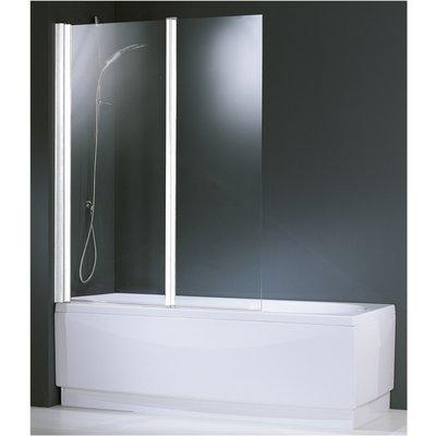 Pare-baignoire mobile Aurora - Fixation réversible