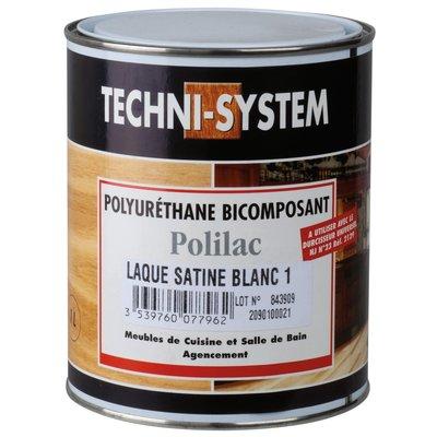 Laque polyuréthane bicomposant - 1 L - Techni System