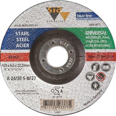 Disque à ébarber acier et inox - Diamètre  230 mm