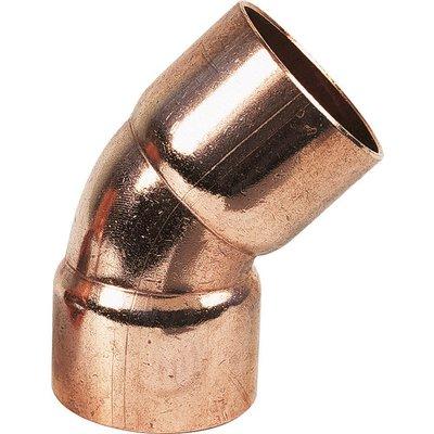 Raccord cuivre coudé 45° à souder - Femelle - Ø 16 mm - Conex / Bänninger
