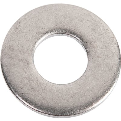 Rondelle plate zingué - Ø 8 mm - Boîte de 200 - Viswood