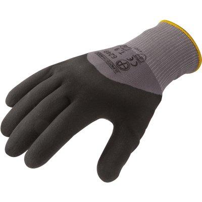 Gant polyamide gris - Spandex - La paire - Eurotechnique - 10