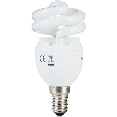 Ampoule Spirale T2 - E14 - 8 W - 2700 k - General electric
