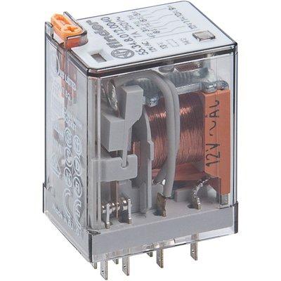 Relais auxiliaire embrochable 4 RT 8A - Type AC - 230 V - Série 55 - Finder