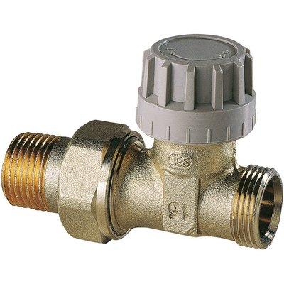 Robinet thermostatique Senso M28 de radiateur - Droit - Mâle - Filetage 1/2