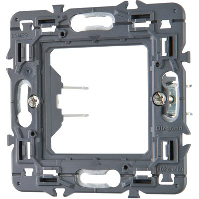 Support Batibox 2 modules à griffes de 27 mm - Legrand